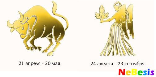 Знакомство телец женщина и овен мужчина